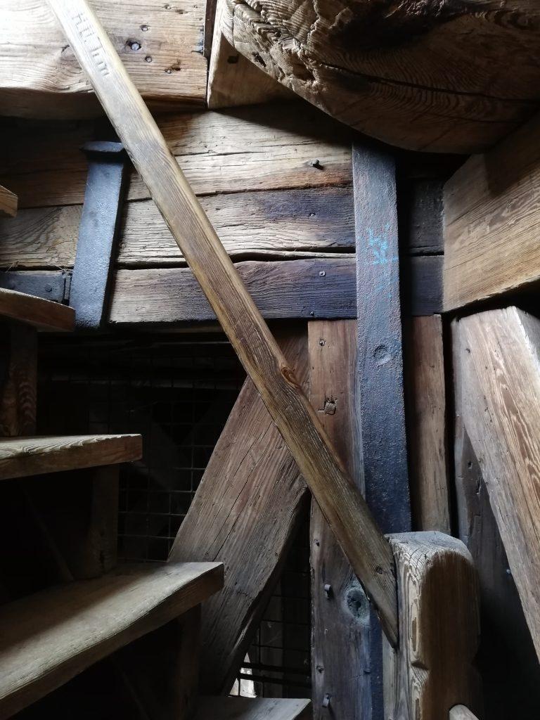 danish church stairs