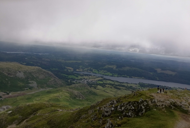 view from the top of the Old Man